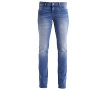 OLIVIA - Jeans Straight Leg - mid blue retro