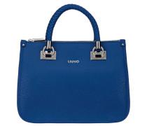ANNA QUADRATA - Handtasche - monaco blue