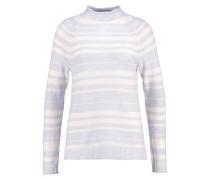 Strickpullover grey stripe