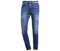SHNONEFABIOS - Jeans Slim Fit - medium blue denim