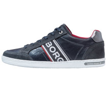 GRAHAM - Sneaker low - navy/red