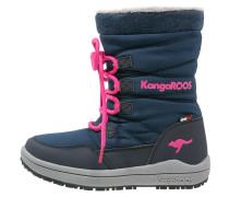 LORE - Snowboot / Winterstiefel - dark navy/magenta