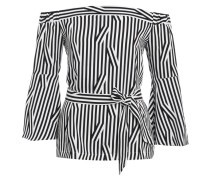 Bluse - black/white