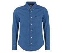 REGULAR FIT Hemd micro blue