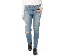LIV - Jeans Slim Fit - mid laser wash