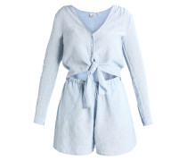 TIE - Jumpsuit - blue/white