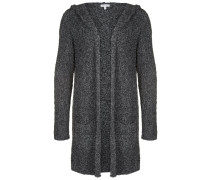 BOUCLE HOODED Strickjacke mouline