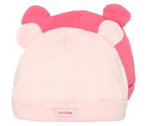 2 PACK Mütze pink combo