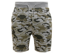 Shorts mottled light grey