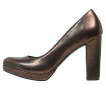 High Heel Pumps bronce
