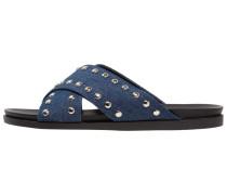CAIN Pantolette flach blue