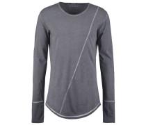CRUZ Langarmshirt vintage grey