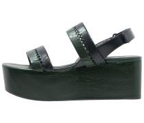 EDEN Clogs green/navy
