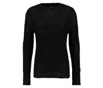 Strickpullover black