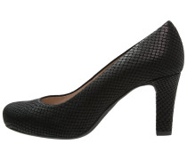 NUMIS Plateaupumps black