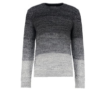 Strickpullover mottled grey