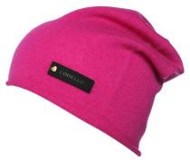 Mütze dark pink