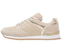 Sneaker low nude/gold