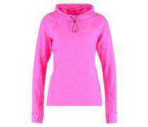 Langarmshirt pink glo heather
