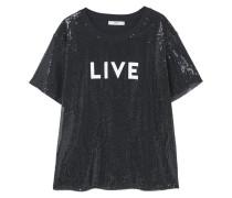 LIVE - T-Shirt print - black