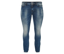 Jeans Tapered Fit medium blue denim