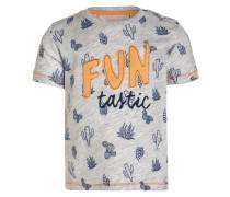 T-Shirt print - light platin meliert
