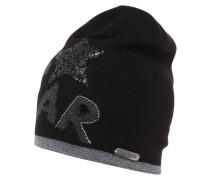 STERNSTEIN Mütze schwarz