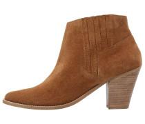 Ankle Boot dark tan