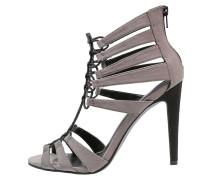 ATHENA High Heel Sandaletten grey/black