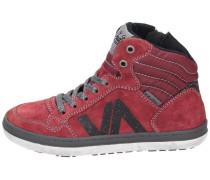 Sneaker high dark red