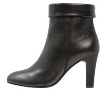 High Heel Stiefelette bronze