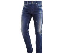 GROVER - Jeans Straight Leg - blue denim