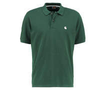 CHASE LOOSE FIT - Poloshirt - fir/white