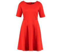 Jerseykleid red