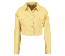 Jeansjacke - yellow