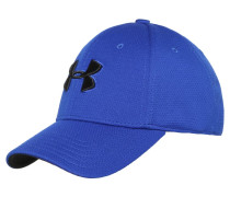 BLITZING II - Cap - royal/black