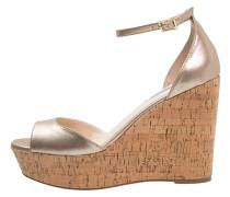 PANDORE High Heel Sandaletten dusty gold