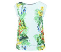 TROPICAL - T-Shirt print - aqua