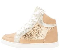 Sneaker high gold