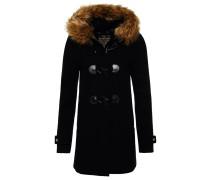 Wollmantel / klassischer Mantel midnight