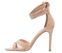 SOUND High Heel Sandaletten peach