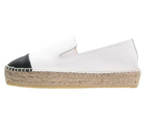 Espadrilles white/black