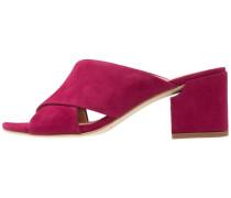 RHODA - Pantolette hoch - new burgundy
