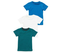 3 PACK TShirt basic blue