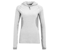 Funktionsshirt light gray heather/medium gray heather