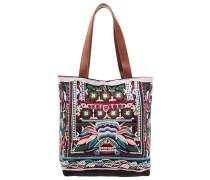 Shopping Bag black/brown/multi