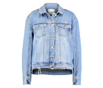 JACKIE - Jeansjacke - light blue