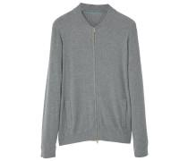 LUXUC Strickjacke medium heather grey