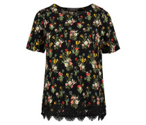WINTER BOUQUET TShirt print black