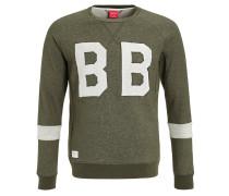 LYNX Sweatshirt green melange